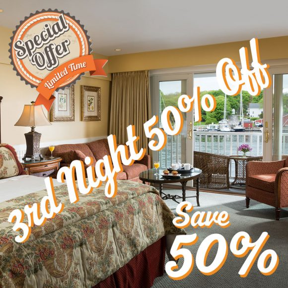 3rd Night 50% OFF