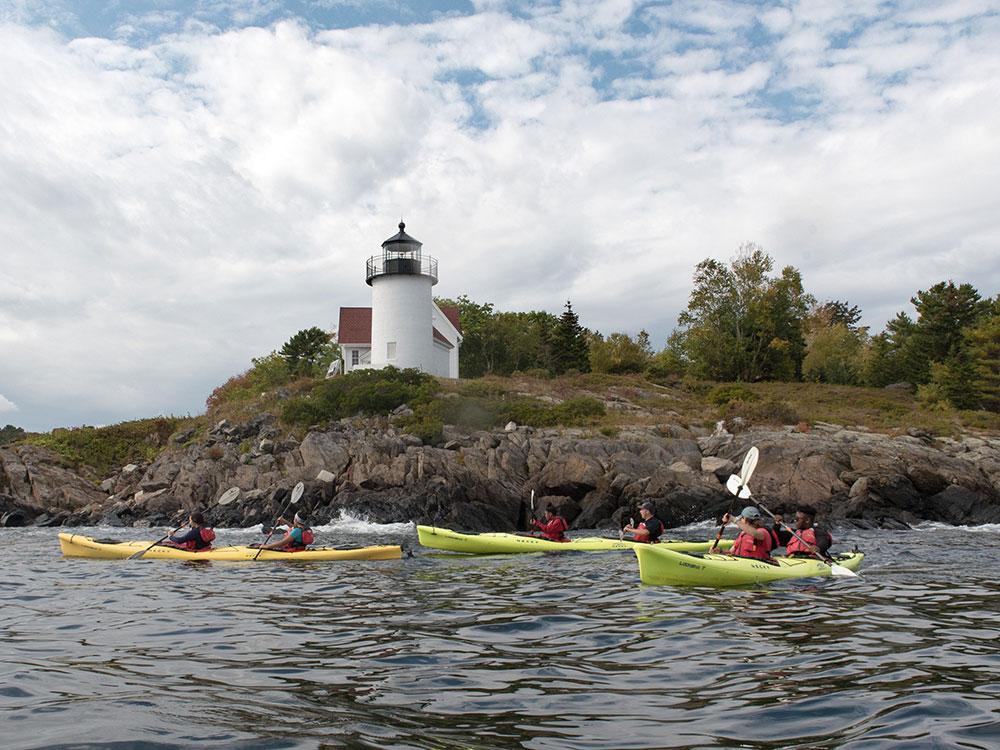 Camden Harbor Kayak Tour