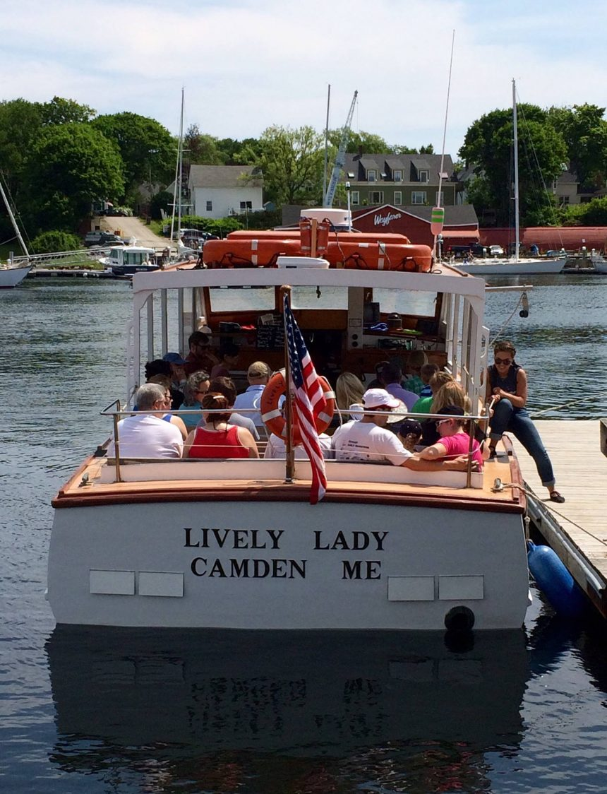 A lobstering trip aboard the lively lady